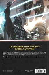 Verso de Star Wars - Dark Vador (Panini Comics - 100% Star Wars) -2- Ombres et mensonges