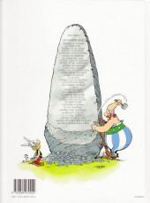 Verso de Astérix -25b07- Le grand Fossé