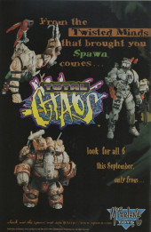 Verso de Spawn (1992) -50- Choices
