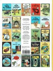 Verso de Tintin (Historique) -10C8bis- L'étoile mystérieuse