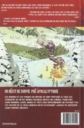 Verso de Sheltered - Sheltered - Un récit pré-apocalyptique