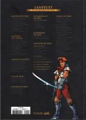 Verso de Lanfeust et les mondes de Troy - La collection (Hachette) -31- Les Conquérants de Troy - Exil à Port-Fleuri