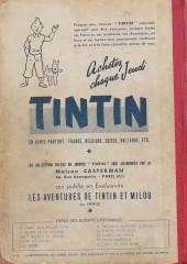 Verso de (Recueil) Tintin (Album du journal - Édition française) -7- Tintin Album du journal