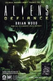 Verso de Free Comic Book Day 2016 - Serenity - Firefly Class 03-K64 / Hellboy / Aliens - Defiance