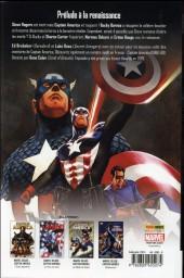 Verso de Captain America (Marvel Deluxe - 2011) -6- Un an après