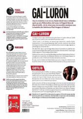 Verso de Gai-Luron (Les Nouvelles Aventures de) -1DP- Gai-luron sent que tout lui échappe...