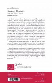 Verso de (DOC) Études et essais divers - Dessiner l'histoire ; pour une histoire visuelle