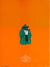 Verso de Jack Palmer -2c- Mister Palmer et Docteur Supermarketstein