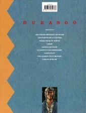 Verso de Durango -3c1991a- Piège pour un tueur