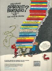 Verso de Spirou et Fantasio -3e84- Les chapeaux noirs