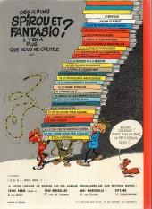 Verso de Spirou et Fantasio -2e77a- Il y a un sorcier à champignac