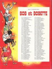 Verso de Bob et Bobette -116a78- La clé de bronze