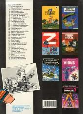Verso de Spirou et Fantasio -11d86- Le gorille a bonne mine