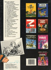 Verso de Spirou et Fantasio -19a1986- Panade à champignac