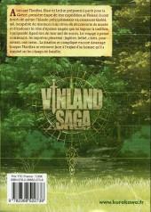 Verso de Vinland Saga -16- Tome 16