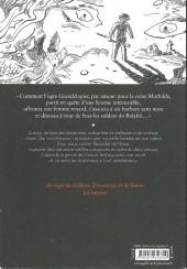 Verso de (AUT) Sfar - Granclapier un roman de l'ancien temps
