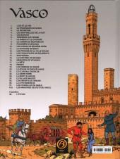 Verso de Vasco -27ES- Les citadelles de sable