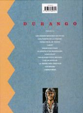 Verso de Durango -2b99- Les forces de la colère