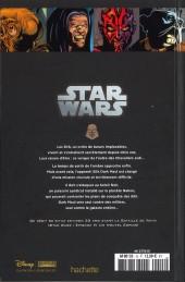 Verso de Star Wars - Légendes - La Collection (Hachette) -15II- Le Côté Obscur - Dark Maul