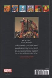 Verso de Marvel Comics - La collection (Hachette) -5957- Deadpool - Suicide Kings