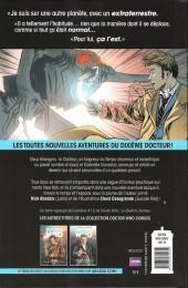 Verso de Doctor Who - Les nouvelles aventures du dixième docteur -1- Les révolutions de la terreur