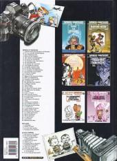 Verso de Spirou et Fantasio -37d03- Le réveil du Z