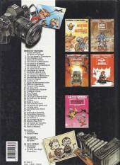 Verso de Spirou et Fantasio -33a1990- Virus