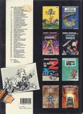 Verso de Spirou et Fantasio -29a1989- Des haricots partout
