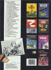 Verso de Spirou et Fantasio -20d1985- Le faiseur d'or