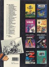 Verso de Spirou et Fantasio -1d1989- 4 aventures de Spirou ...et Fantasio