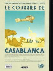 Verso de Le courrier de Casablanca -1TL- Christina