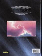 Verso de Les quatre voyages de Juan Buscamares -4- Le feu