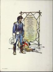 Verso de Blueberry -5a79- La piste des navajos