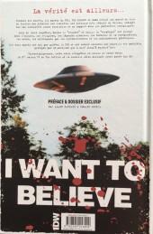 Verso de X-Files (The) -1- Les Nouvelles Affaires non classées