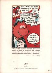 Verso de (AUT) Margerin - Une anthologie