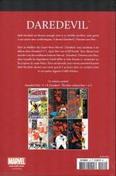 Verso de Marvel Comics : Le meilleur des Super-Héros - La collection (Hachette) -10- Daredevil