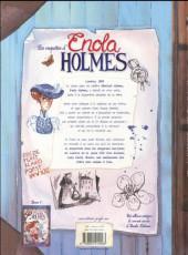 Verso de Les enquêtes d'Enola Holmes -2- L'affaire Lady Alistair