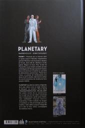Verso de Planetary (Urban comics) -1- Volume 1