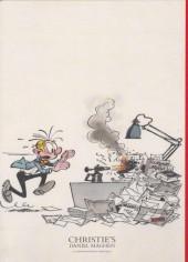 Verso de (Catalogues) Ventes aux enchères - Christie's - Christie's - Bande Dessinée et Illustration - 21 Mai 2016 - Paris