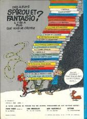 Verso de Spirou et Fantasio -25b76- Le gri-gri du Niokolo-Koba