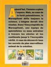 Verso de Marsupilami -HS- L'encyclopédie du Marsupilami