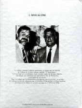Verso de Lefranc -10TT- L'apocalypse