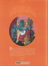 Verso de Les tribulations de Roxane (Place du Sablon) -B- La Main de Pangboche - Deuxième partie
