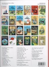 Verso de Tintin (Historique) -14D3- Le temple du soleil