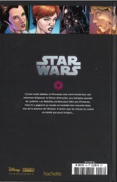 Verso de Star Wars - Légendes - La Collection (Hachette) -1656- Star Wars - III. Princesse et Rebelle