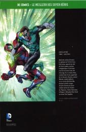 Verso de DC Comics - Le Meilleur des Super-Héros -Premium01- Green Lantern - Tome 1 - Sans peur