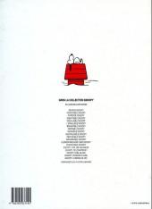 Verso de Peanuts -6- (Snoopy - Dargaud) -16a- Snoopy feu d'artifice !