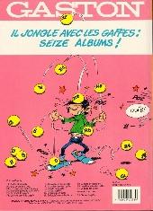 Verso de Gaston -15- Gaffe à Lagaffe !