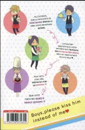 Verso de Kiss him, not me ! -3- Tome 3