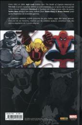 Verso de Daredevil / Spider-Man / Hulk